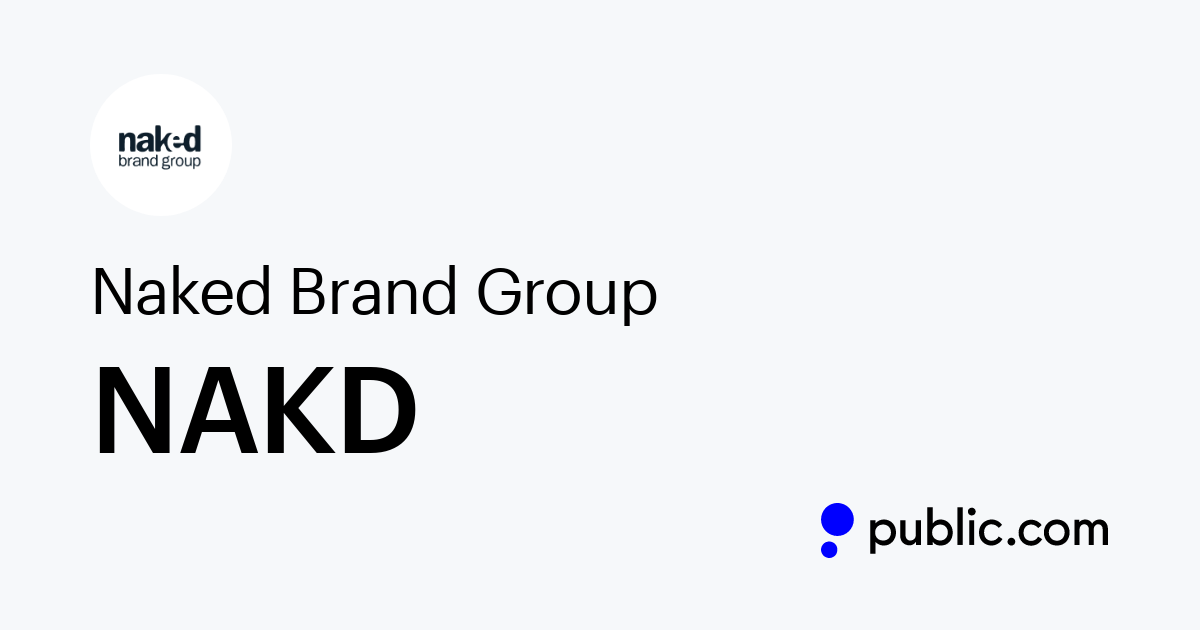 Naked Brand Group Ltd. Stock Forecast: up to 0.536 USD